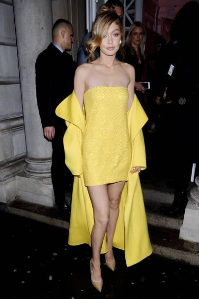 Gigi x Maybelline Party, London - November 7 2017