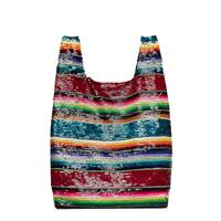 Ashish rainbow sequin shopper