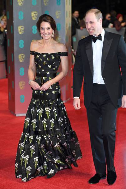The Duchess of Cambridge in Alexander McQueen
