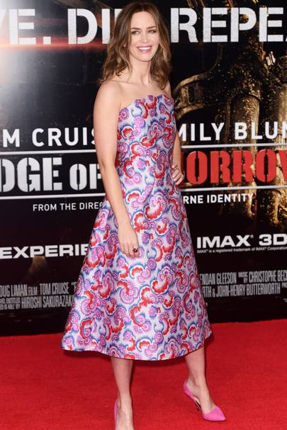 Edge Of Tomorrow premiere, London - May 28 2014