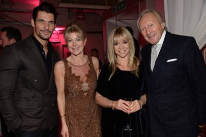 With Emma Willis, Jo Wood and Harold Tillman