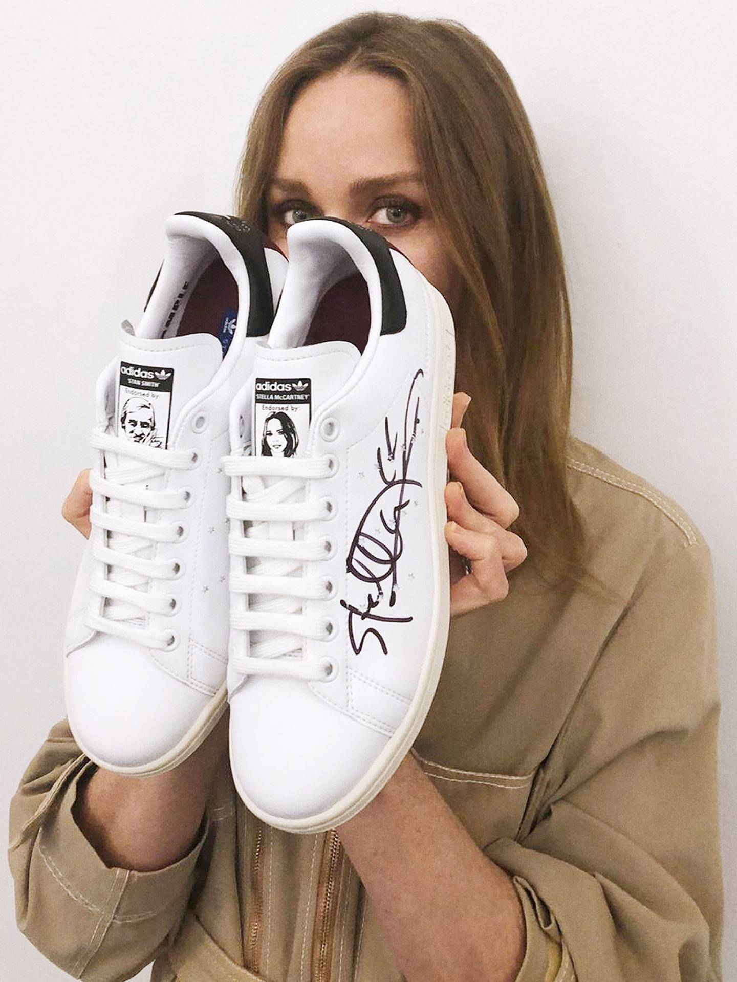 Stella McCartney Has Designed Her Own (Faux Leather!) Stan Smiths dc6ef28bb