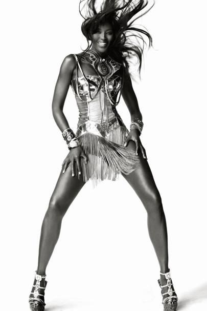 Naomi Campbell - Vogue December 2010