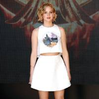 The Hunger Games: Mockingjay Part One press conference - May 17 2014