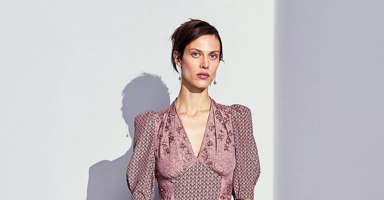 Bottega Veneta Autumn Winter 2017 Pre Fall Show Report British Vogue Bianca Navy Top Leux Studio L