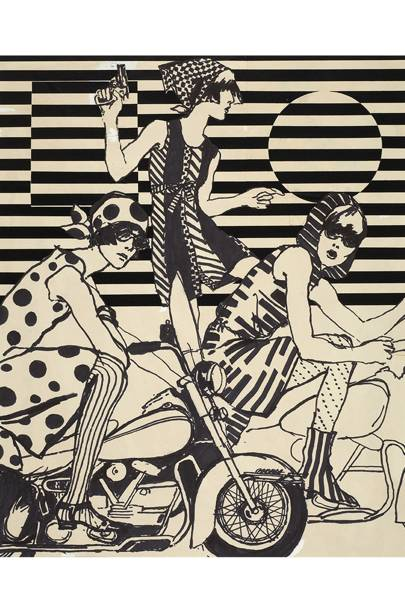 For Fashions of The Times by Antonio Lopez, 1966