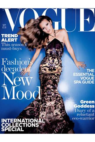 British Vogue, September 2004