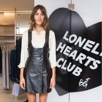 Alexa Chung and Bergdorf Goodman Host: The Lonely Hearts Club Event, New York – July 25 2017