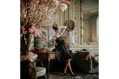 Inside Dior Glamour: The Romance dress