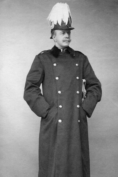 The great coat as worn by the Duke of Fife