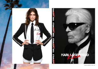 Karl Lagerfeld Unveils Kaia Gerber Capsule Collection British Vogue
