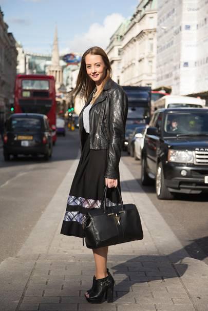 Sarah Royce-Greensill, fashion intern