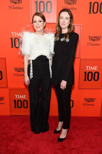 Brie Larson's Unstoppable Red-Carpet Run Continues In Prada At The Time 100 Gala