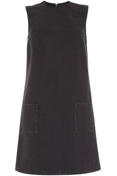 Black shirt dress, £65