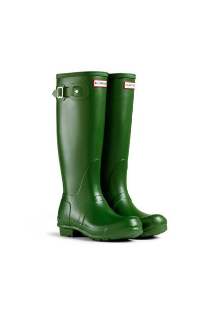 The wellington boots