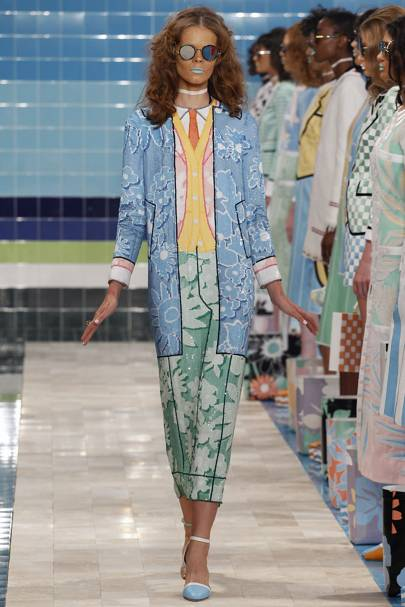 Thom Browne's Sims-style Stepford Wife