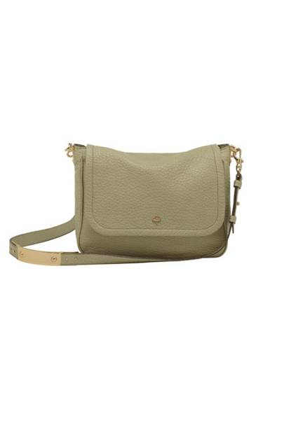 9b7032abdb Evelina Satchel in Summer Khaki Soft Large Grain £595