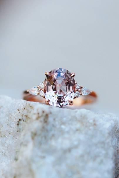 Campari Engagement Ring by Eidel Precious