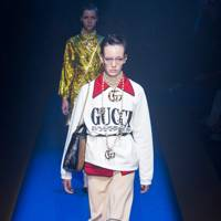 4. Gucci's sweatshirt smarten-up