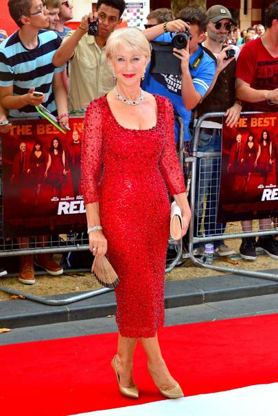 Red 2 film premiere, London - July 22 2013