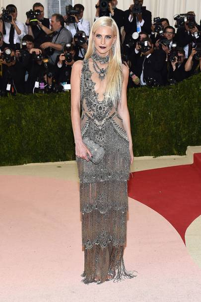 Poppy Delevingne at the 2016 Met Gala