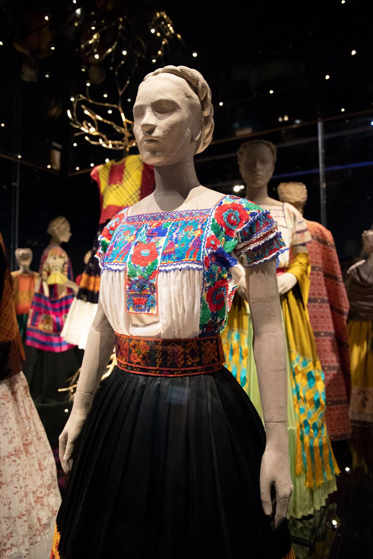 Fashioning Frida Inside The V A S Kahlo Retrospective British Vogue