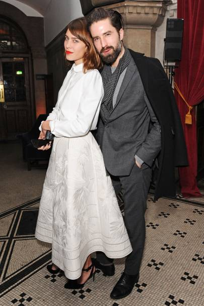Pre-British Fashion Awards dinner, London - November 29 2014
