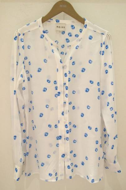 Irregular Spot Blouse