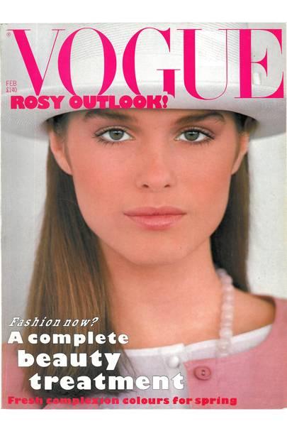 Vogue Cover February 1983