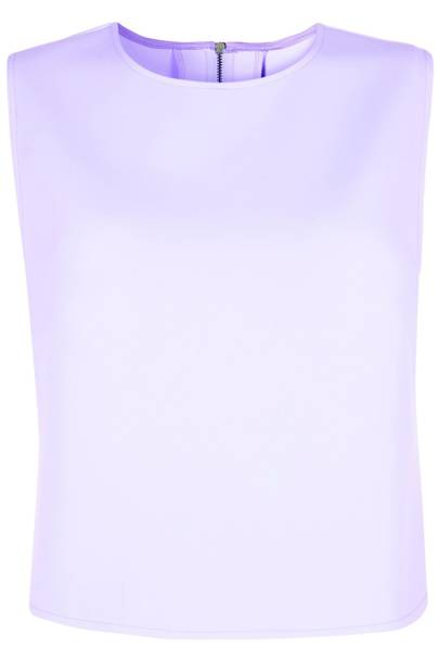Lilac sleeveless top, £60