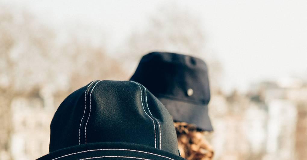 Maison Michel Paris Mackintosh Hat Collaboration  955cc6c35b97