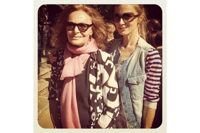 The incredible Diane von Furstenberg. Friend and inspiration.