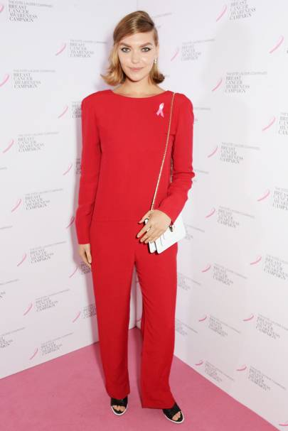 Estée Lauder Breast Cancer Awareness campaign launch, London - October 6 2014