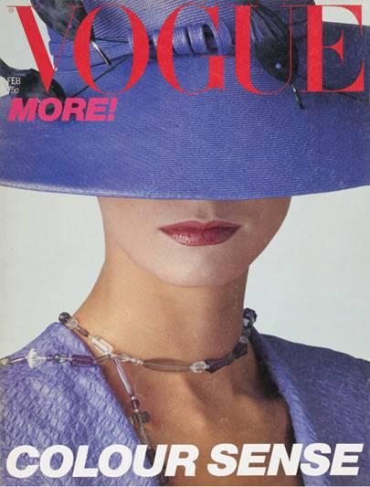 Vogue Cover, February 1979