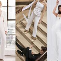 The Bridal Jumpsuit Is Officially Happening
