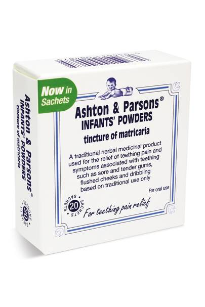 Ashton & Parsons Teething Powders