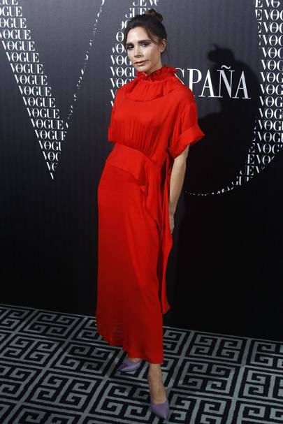 Vogue Dinner honoring Victoria Beckham, Madrid – January 18 2018