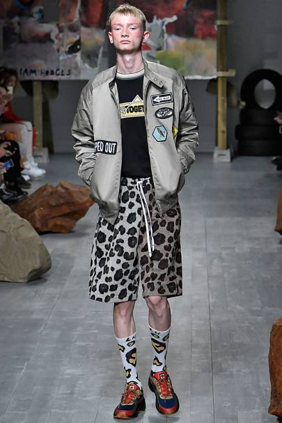 Liam Hodges Spring Summer 2019 Menswear show report   British Vogue f1cb43bc2a9