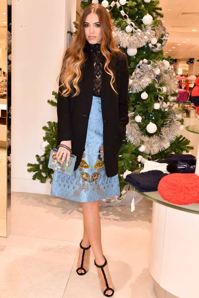 Charlotte Tilbury Fenwick counter launch, London - November 19 2014