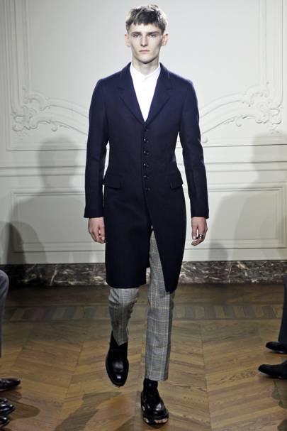 b800ceb689ef44 Yves Saint Laurent Autumn Winter 2011 Menswear show report   British Vogue