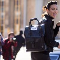 The accessory: The oversized backpack