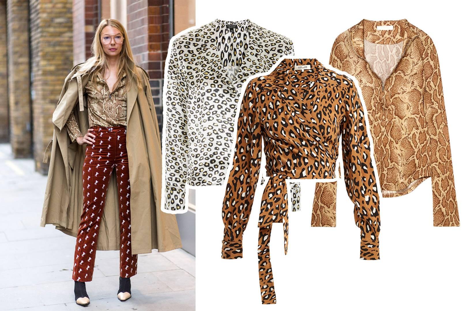ea3ea98fc3e5 Shop The Street Style: Animal Print | British Vogue