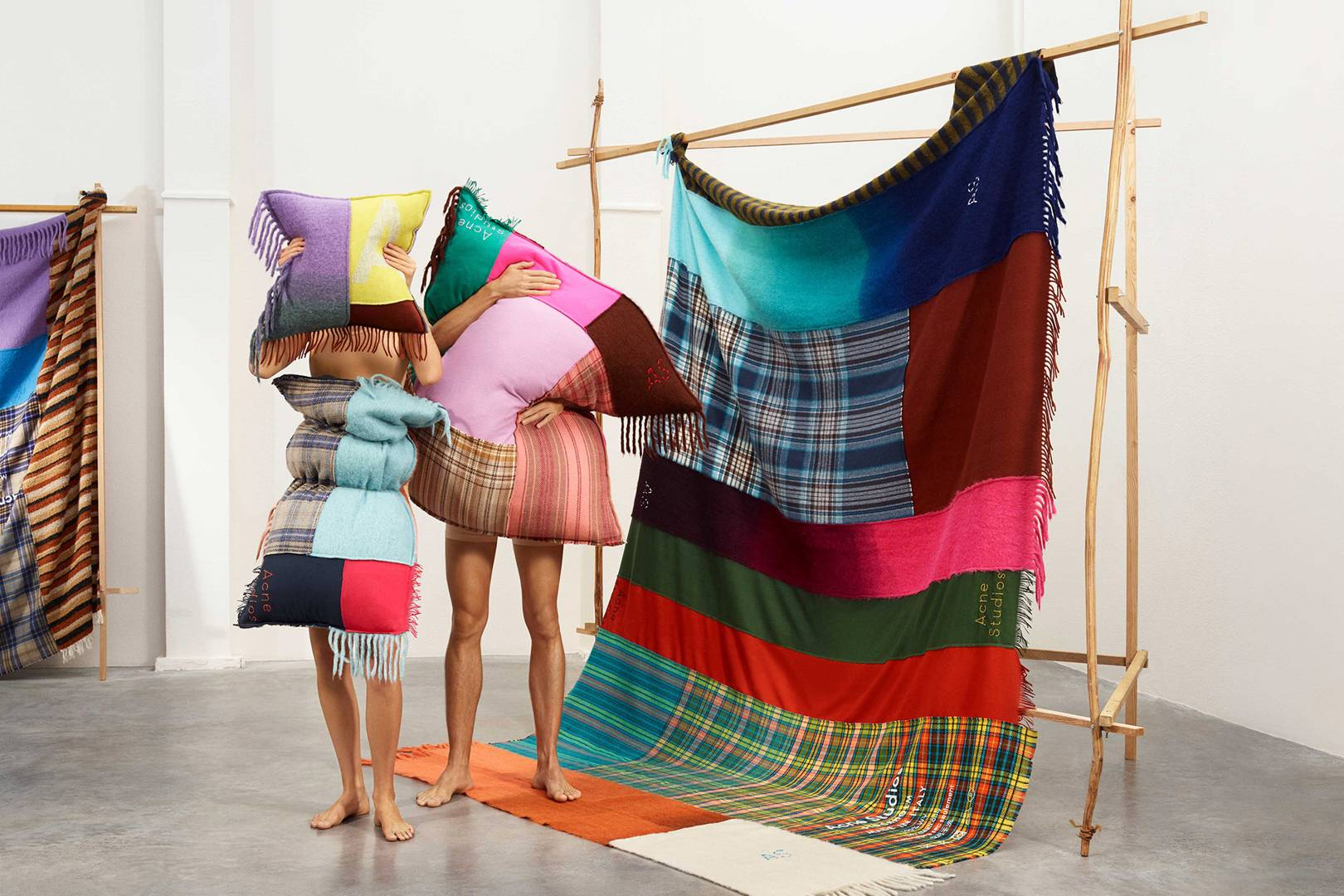 ca498bdea1c Acne Studios Launches Homeware Inspired By Its Signature Scarves ...