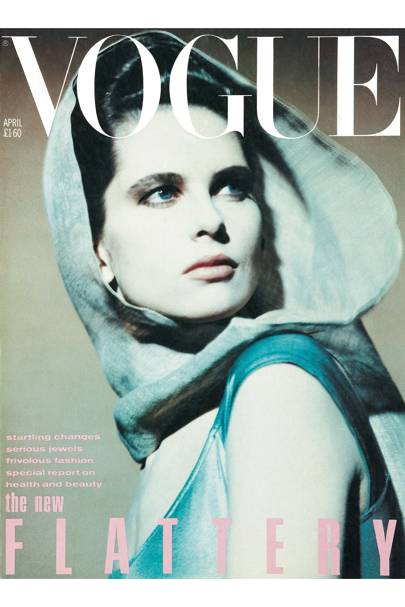 Vogue cover, April 1984