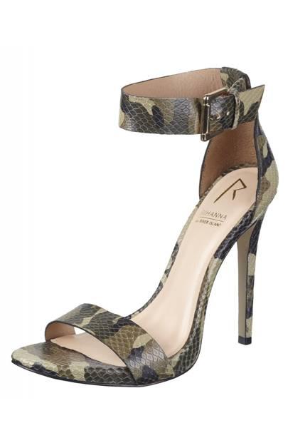 Camouflage heels, £60