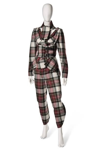 Gwen Stefani's Vivienne Westwood suit