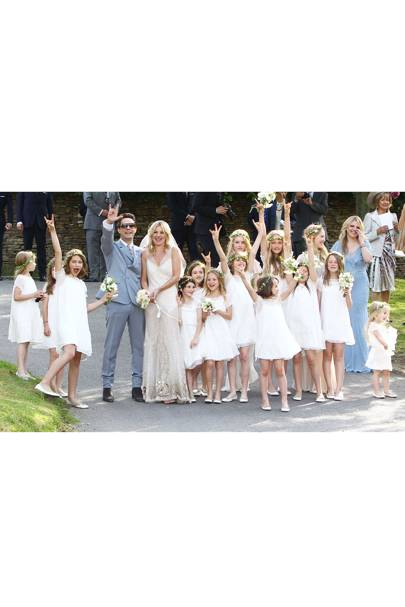 Kate Moss's Wedding