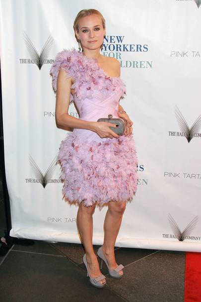 Diane Kruger at the 2009 New Yorkers For Children Spring Dinner Dance