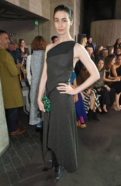 Roland Mouret Show, London Fashion Week - September 17 2017