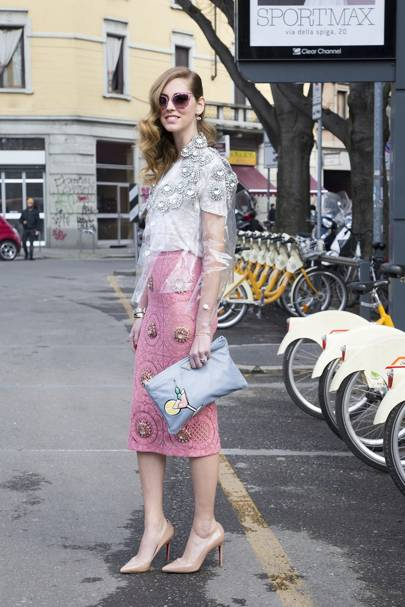 Chiara Ferragni, blogger